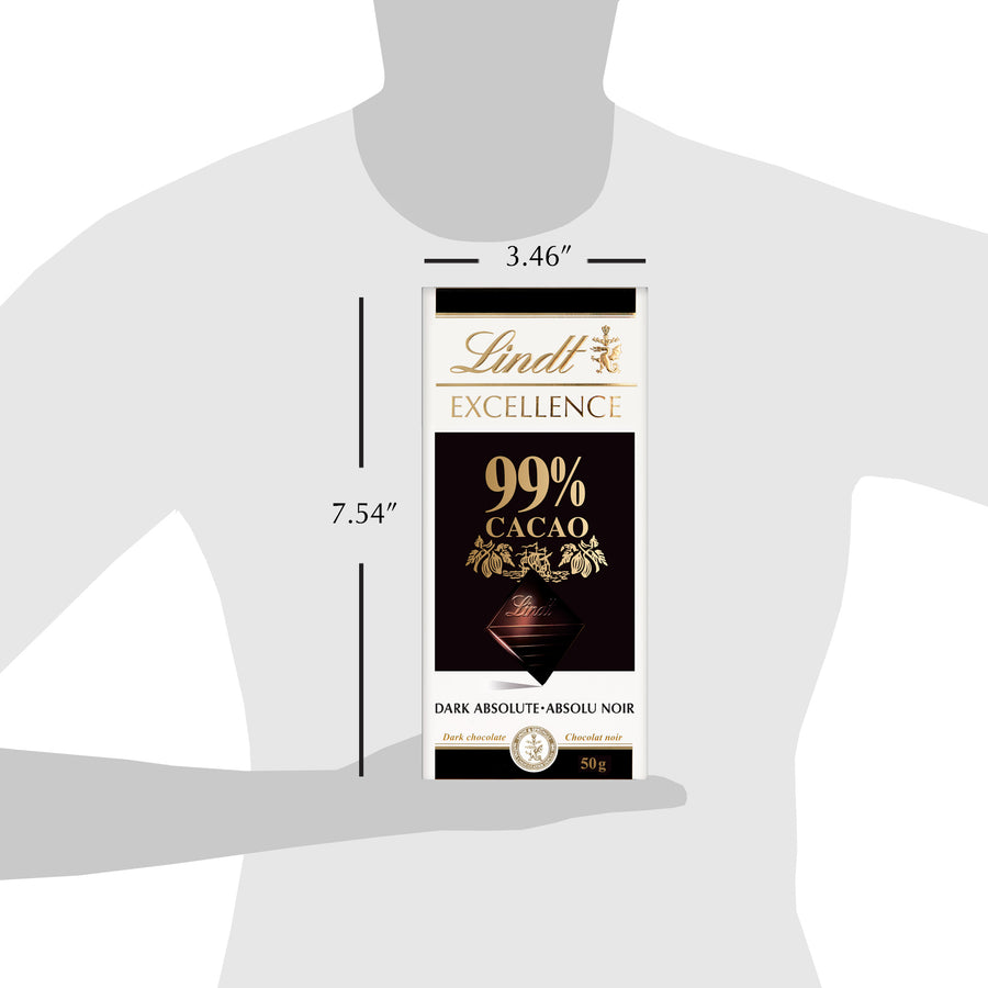 Lindt Excellence 99% Cacao Bar 50g