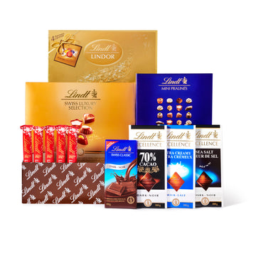 Lindt Family Favourites Gift Box 1135g (Delivery Only)