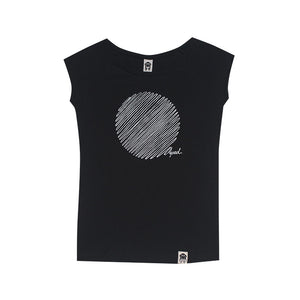 Aped | Classic Circle T-Shirt Black - Kauf in Österreich