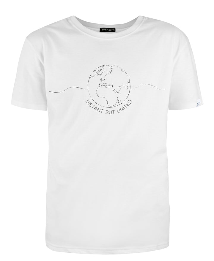 BONFIGLIO | Donation Shirt - Distant but United | Unisex - Kauf in Österreich