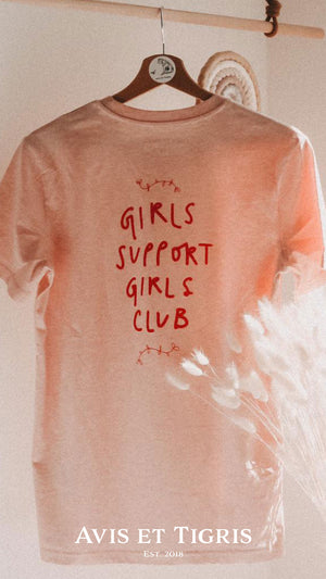 Avis et Tigris | Girls Support Girls T-Shirt | Unisex - Kauf in Österreich
