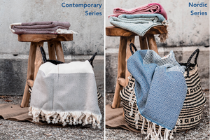 EL PATITO TOWELS & BATHROBES | Contemporary Series / Nordic Series 100 % Cotton Turkish Towels