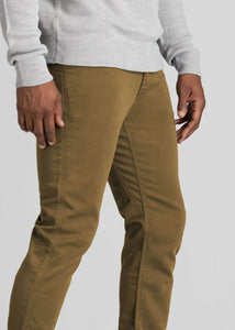 "Duer No Sweat Pant Relaxed 32"" Inseam - TOBACCO"