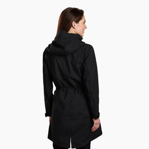 Kuhl Women's Jetstream Trench - BLACK