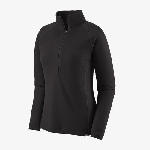 Patagonia W's Cap Mw Zip Neck - BLACK