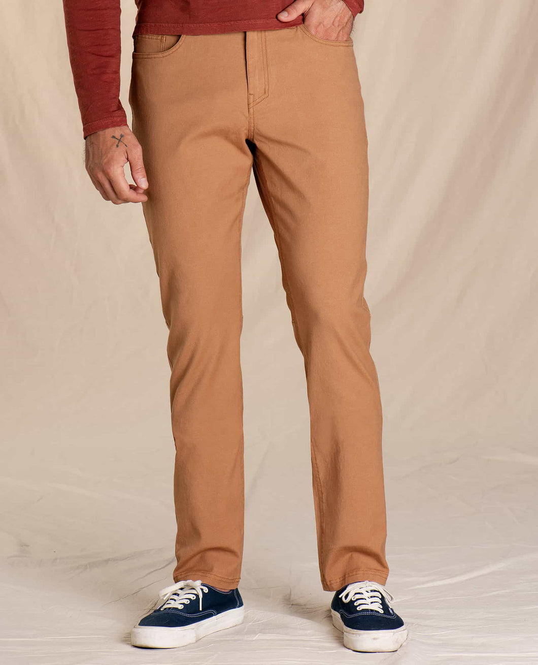 Toad & Co. Woodsen 5 Pocket Lean Pant - TABAC