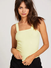 Load image into Gallery viewer, Volcom Lil Ribbed Tank - TROPYLLW