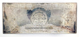 Silver Certificate Silver Dollar Art Bar - 4 oz