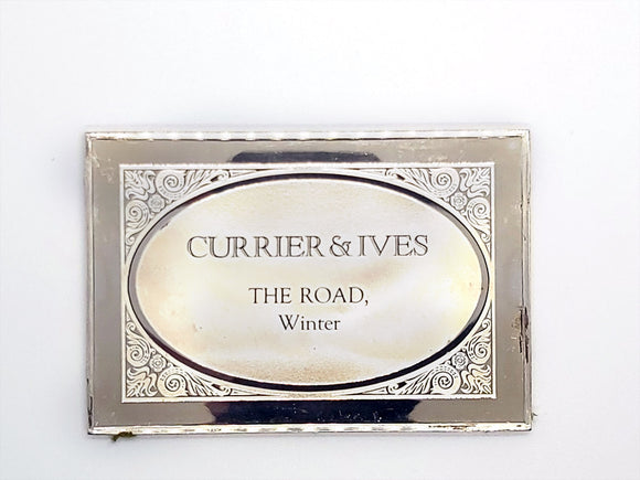 Currier & Ives - THE ROAD, Winter - 3 oz Bar