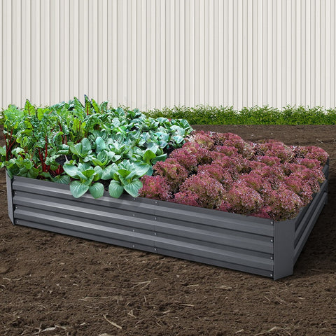 Galvanised Steel Raised Garden Bed Instant Planter