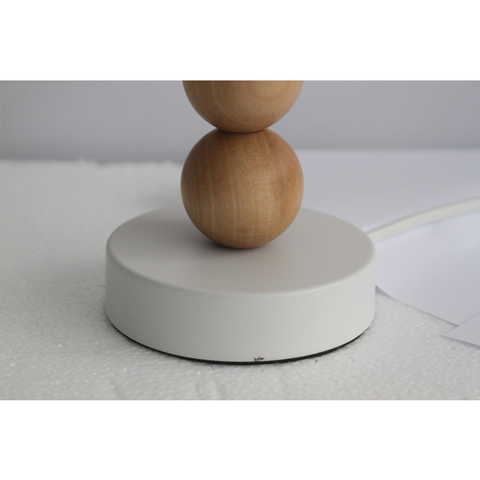 Cara Table Lamp - White