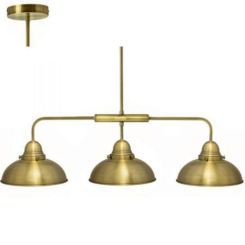 Manor 3-Arm Pendant Light