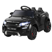 Kids Ride On Car - Black Convertible Children's Electric Car