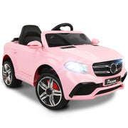 Kids Ride On Car  - Pink Convertible Children's Girls Electric Car