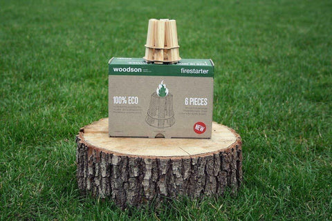 Woodson Natural Fire Starters for BBQ's, Camp Fires - Johnny Boy