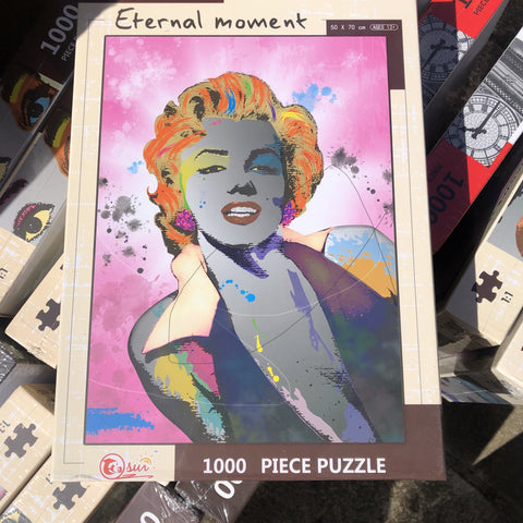 Marilyn Monroe Jigsaw Puzzle 1000 Pieces - JohnnyBoyAus