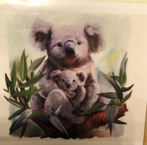 Koala Diamond Painting Art Kit Set 40 x 50 Full Drill Round 5D - JohnnyBoyAus