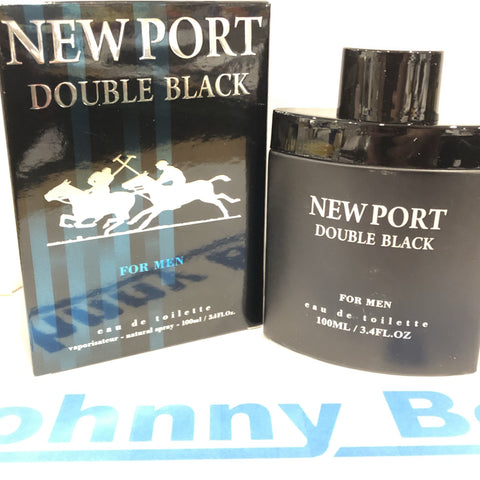 Men's Aftershave Cologne New Port Double Black 100ml - JohnnyBoyAus