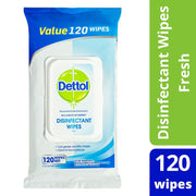 Dettol Antibacterial Surface Cleaning Wipes Fresh 120 Pack - JohnnyBoyAus