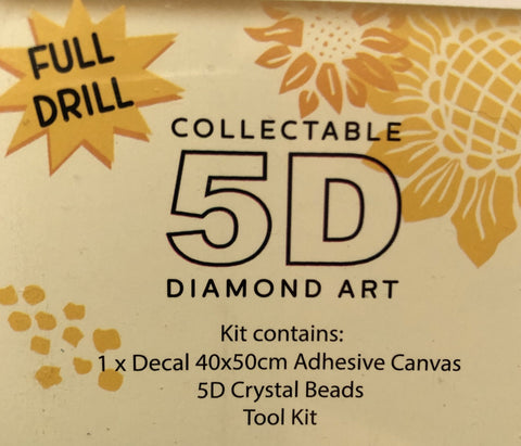 Diamond Painting Art Kit Set 40 x 50 Full Drill Round 5D - JohnnyBoyAus