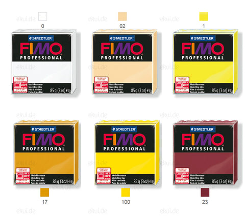 "FIMO professional 85g Wholesale ""100"" =2.20eur/piece"
