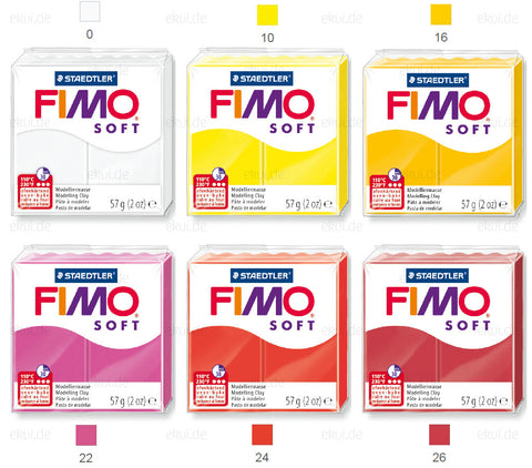 "FIMO Soft / Effect 57g Wholesale ""144"" =1.50eur/piece"