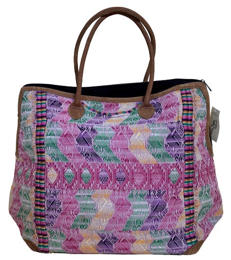 Embroidered Huipil Bag (available in 3 colors)