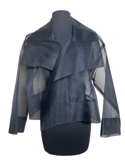 Silk Organza Cropped Jacket (available in 3 colors)