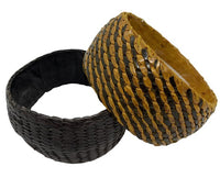 Woven Leather Bracelets (from Mali)