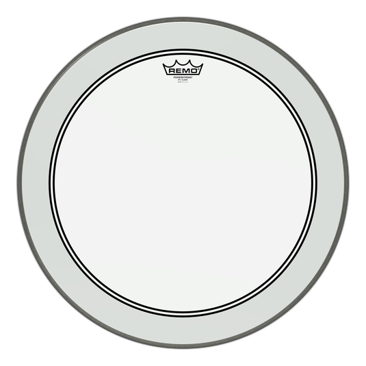 Remo Powerstroke 3 Clear Bass Drumhead with Falam Patch 22