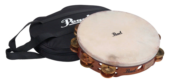 Pearl Concert Tambourine - Copper & Brass-PETM1018CR