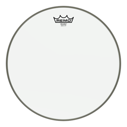 Remo Diplomat Hazy Snare Side Head 14