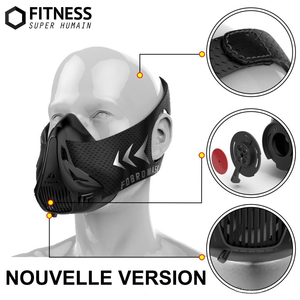 simulateur d altitude training mask