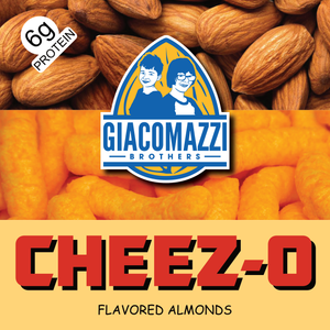 Cheez-O Flavored Almonds - 1lb Bag