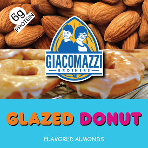 Glazed Donut Flavored Almonds - 1lb Bag