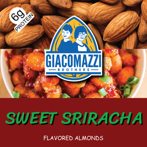 Sweet Sriracha Flavored Almonds - 1lb Bag