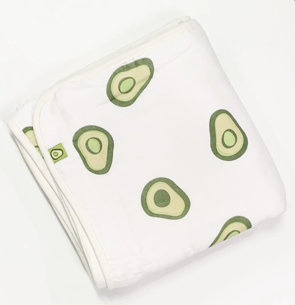 Avocado Amour 3 Layer Blanket