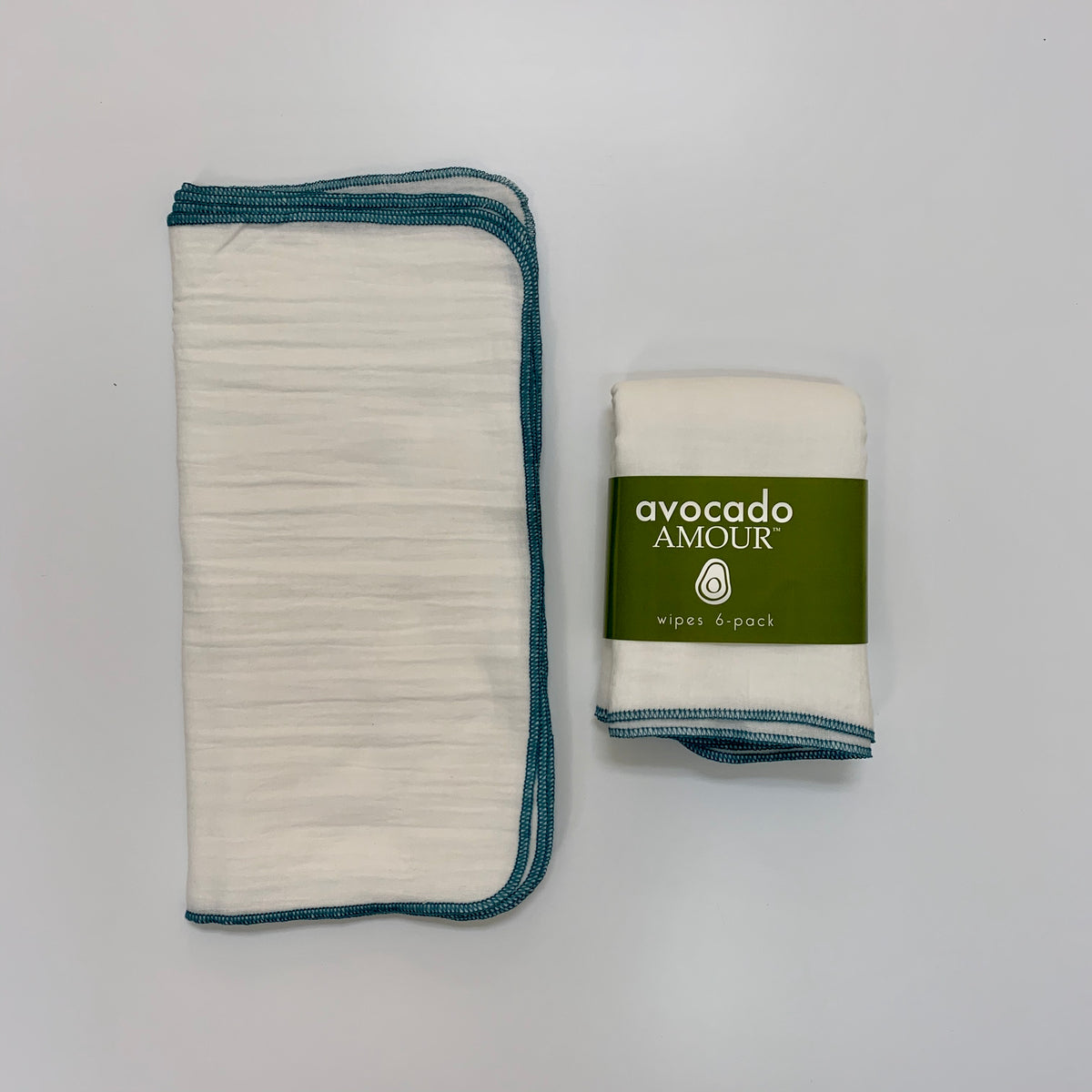 SECONDS Turquoise WIPES 6 Pack