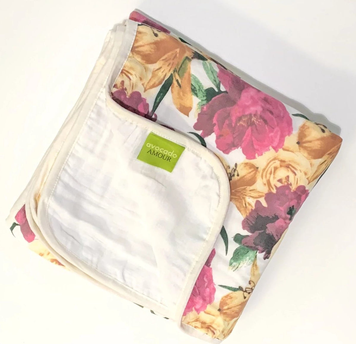 Vintage Floral 3 Layer Blanket