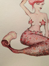 Load image into Gallery viewer, Original - The Pink Mermaid