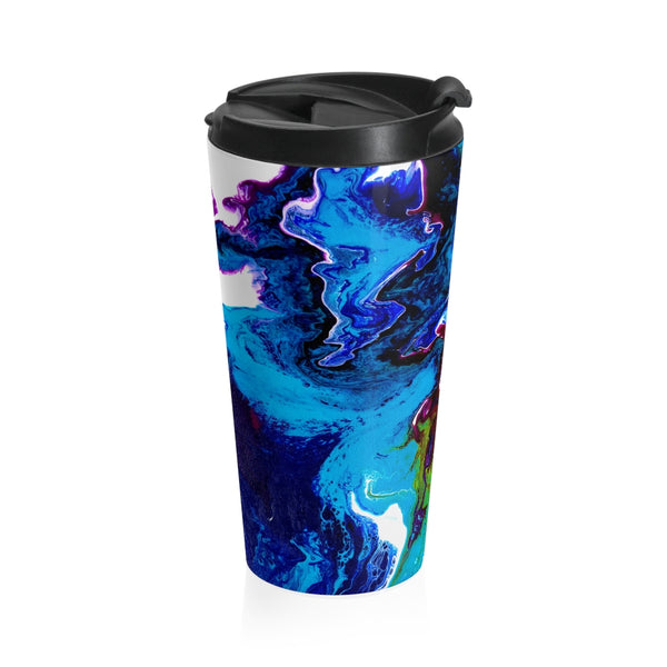 Stainless Steel Travel Mug - Mystic Rivers - Artinzene