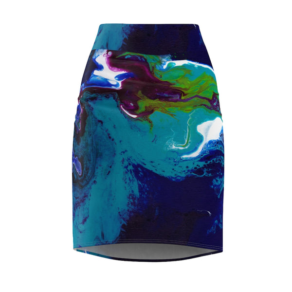 Women's Pencil Skirt - Mars - Artinzene