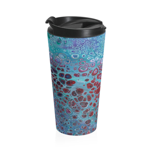 Stainless Steel Travel Mug - Galaxy - Artinzene