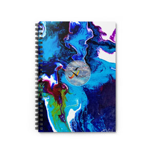 Spiral Notebook - Ruled Line - Artinzene