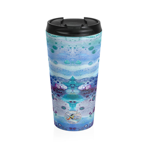 Stainless Steel Travel Mug - Milky Way - Artinzene