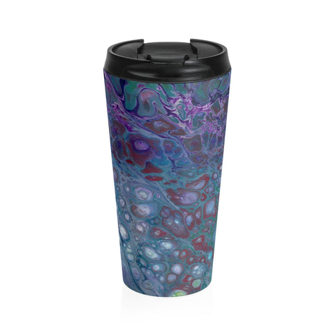 Stainless Steel Travel Mug - Moonbeam - Artinzene