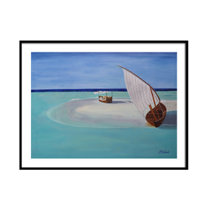 MALDIVES SERIES - Island escape - Artinzene