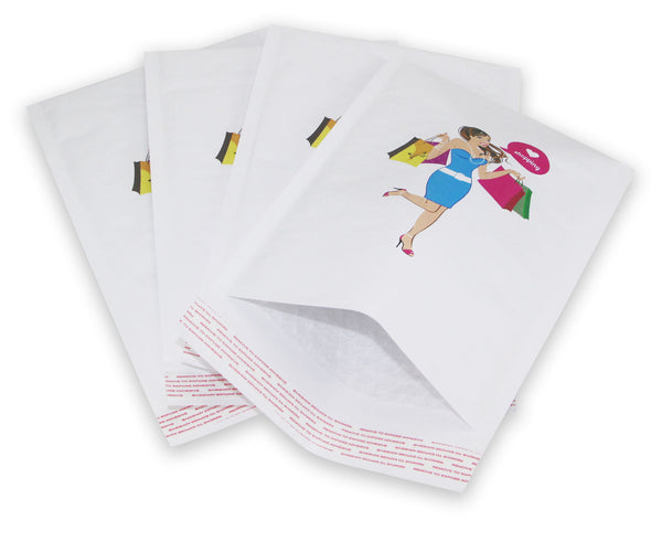165x228 mm Custom Printed Bubble Mailers