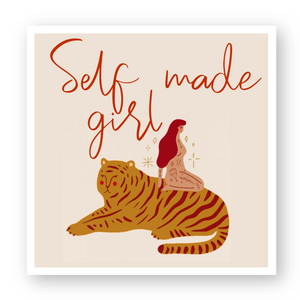 "Stickers(5) ""Self Made Girl"""