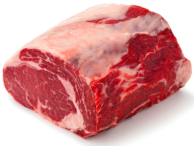 Scotch Fillet Black Angus Whole - per kg